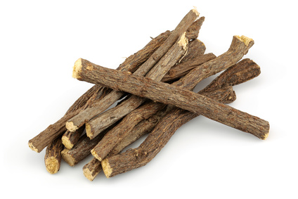 Liquorice roots for herpes