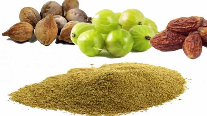 Triphala for herpes cure