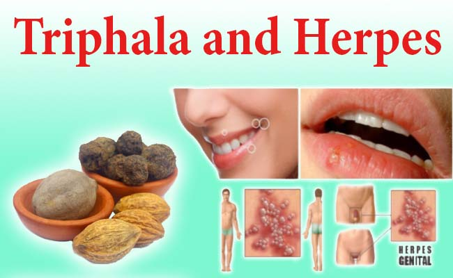 triphala and herpes
