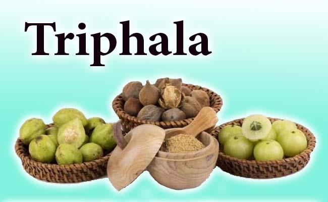 triphala in herpes