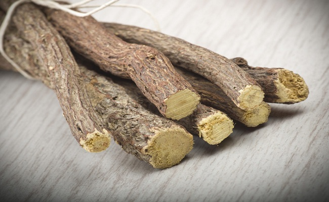 Licorice roots for herpes